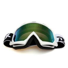 ซื้อ Motocross Off Road Trials Enduro Helmet Atv Dirt Bike Motorcycle Goggles Eyewear Silver จีน