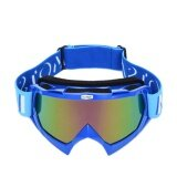 ซื้อ Motorbike Eyewear Cross Country Helmet Windbreak Glasses Goggles Ski Riding Glasses Eye Protective Gear Motor Goggles Blue Intl ถูก ใน จีน