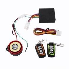 【การส่งเสริม】รถจักรยานยนต์ป้องกัน - Theft ระบบเตือนภัยความปลอดภัยสองทางรีโมทคอนโทรล - นานาชาติ.