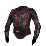 ซื้อ Motorcycle Body Protection Racing Full Body Armor Spine Chest Protective Jacket Gear M Xxxl Intl ใหม่