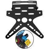 ขาย Motorcycle License Plate Holder Aluminum Alloy Mount Bracket Adjusted Registration Number Plate Holder Moto Univers Black Intl จีน ถูก