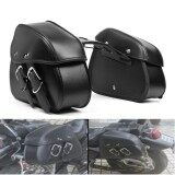 ซื้อ Motorcycle Pu Leather Saddlebags Saddle Swingarm Bag Left Right Side Tool Bags For Sportster 1200 Intl จีน