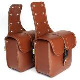 ขาย Motorcycle Saddlebags Saddle Bags Brown Intl Unbranded Generic ออนไลน์