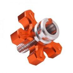 ราคา Motorcycle Universal Cnc Aluminium Machined Clutch Cable Wire Adjuster Scr*W Orange Intl Unbranded Generic