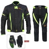 Motorcycle Waterproof Riding Suit Racing Suits With Gloves Intl เป็นต้นฉบับ
