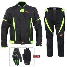 ราคา Motorcycle Waterproof Riding Suit Racing Suits With Gloves Intl ใน จีน