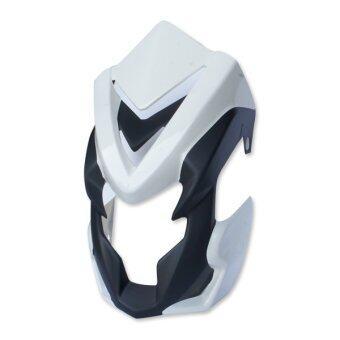 หน้ากาก+คาง สำหรับ MSX (สีขาว/ดำด้าน)