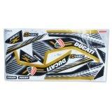 ราคา สติกเตอร์แต่ง สำหรับ Msx รุ่น Ducatti V 2 สีดำ ทอง เป็นต้นฉบับ