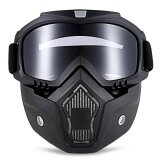 ส่วนลด Mt 009 Motorcycle Goggles With Mask Gray Intl