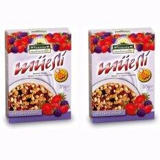 ราคา มุสลีอาหารเช้าผสมผลไม้ Muesli Wild Berry นำเข้าจากอิตาลี 2 กล่อง 375กรัมต่อกล่อง กรุงเทพมหานคร