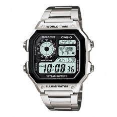 ขาย นาฬิกา Casio รุ่น Ae 1200Whd 1Av แบตเตอรี่ 10 ปี ราคาถูกที่สุด
