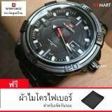 ราคา นาฬิกาข้อมือผู้ชาย สายสแตนเลส รุ่น Steel Dark Serie Limited Edition กันน้ำ รับประกันศูนย์ไทย เป็นต้นฉบับ