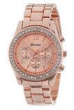 ราคา มารยาทดีเด่นสตรีกุหลาบทองรัดนาฬิกาสเตนเลส เป็นต้นฉบับ Unbranded Generic