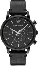 ขาย ซื้อ นาฬิกาข้อมือสุภาพบุรุษ Emporio Armani Dress Chronograph Black Dial Men S Watch Ar1918 ใน กรุงเทพมหานคร