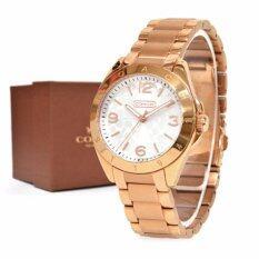 ซื้อ นาฬิกาข้อมือสุภาพสตรี Coach Women S Watch Tristen 14501780 ออนไลน์ ถูก