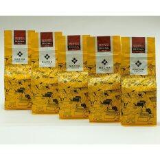 Nacha Coffee Original Whole Bean 200 g. (เมล็ดกาแฟคั่วตรานาชา อาราบิก้า 100 %) 5 ถุง - 1,000 g.