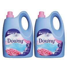 ราคา น้ำยาปรับผ่านุ่ม Downy Sunrise Fresh 4 ลิตร แพ็คคู่ถูกกว่า Downy เป็นต้นฉบับ