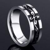 ซื้อ ไหลบ่าเข้ามาของผู้คน Nanjie บุคลิกภาพแหวนญี่ปุ่นและเกาหลีใต้เหล็กไทเทเนียมนักเรียน ถูก ใน ฮ่องกง