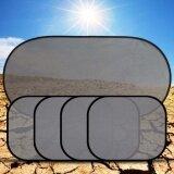 Naponie 5 Pcs Set Car Window Suction Cup Sun Visor Shade Curtain Mesh Sunshade Covers Intl ถูก