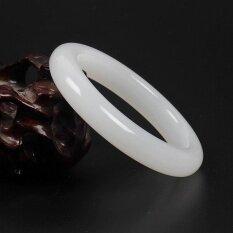 ธรรมชาติ - ระดับอัฟกานิสถานหยกสีขาวสร้อยข้อมือกำไลข้อมือผู้หญิงสไตล์ใหม่เครื่องประดับ - นานาชาติ By Carving Life.