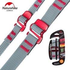 ซื้อ Naturehike 2Pcs Travel 100 Nylon Luggage Straps Suitcase Webbing Strap Belts Baggage Belt For Backpack Cycling Outdoor Hiking Intl ออนไลน์ ถูก