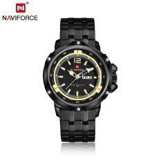 ทบทวน Naviforce 2016 Fashion Luxury 30M Water Resistant Quartz Man Watch Stainless Steel Casual Business Watch For Men Analog Wristwatch With Storage Box Unbranded Generic
