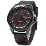 ซื้อ Naviforce 9055 Men Quartz Watch 30M Water Resistant Luminous Red Intl ใหม่ล่าสุด