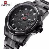ซื้อ Naviforce Brand Full Steel Army Military Watches Men S Quartz Sports Wrist Watch Nf9079 Intl ออนไลน์ จีน