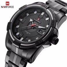 ขาย ซื้อ Naviforce Brand Full Steel Army Military Watches Men S Quartz Sports Wrist Watch Nf9079 Intl ใน จีน