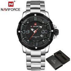 ความคิดเห็น Naviforce Luxury Brand Men Army Military Sports Watch นาฬิกาข้อมือ Es Men S Quartz Clock Male Full Steel Sports Wrist Watch นาฬิกาข้อมือ