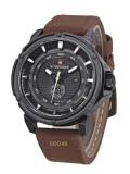 ขาย Naviforce นาฬิกาข้อมือผู้ชาย สายหนัง รุ่น Nf9083M สีน้ำตาล แถมฟรี ผ้่าเช็ด กล่อง รับประกัน 6 เดือน Naviforce ถูก
