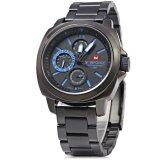 ส่วนลด Naviforce Nf 9069M Male Quartz Watch Working Sub Dials Wristwatch Blue Naviforce