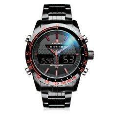 ขาย ซื้อ Naviforce Nf9024 ผู้ชายสัปดาห์แสดงนาฬิกาข้อมือ