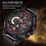 ขาย ซื้อ Naviforce รุ่น Nf9068 สายสเตลเลสแบบหัวเข็มขัดเลื่อนได้ กันน้ำ3บาร์ ใน กรุงเทพมหานคร