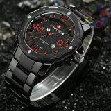 ราคา Naviforce นาฬิกาข้อมือ สายแสตนเลสสีดำหน้ากลม รุ่น Nf9078 Red เป็นต้นฉบับ