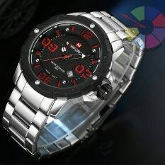 ราคา ราคาถูกที่สุด Naviforce นาฬิกาข้อมือ สายแสตนเลส หน้ากลม รุ่น Nf9078 Silre