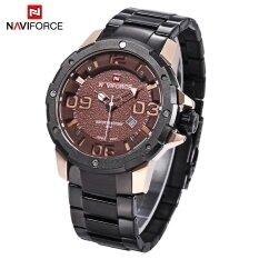ซื้อ Naviforce Nf9078M Men Quartz Watch Date Luminous Display 3Atm Japan Movt Wristwatch Intl ออนไลน์