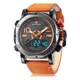 ขาย Naviforce Nf9094M ชายคู่ Movt นาฬิกาโครโนกราฟนาฬิกาข้อมือชาย นานาชาติ Naviforce