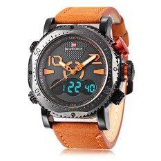 Naviforce Nf9094M ชายคู่ Movt นาฬิกาโครโนกราฟนาฬิกาข้อมือชาย นานาชาติ เป็นต้นฉบับ