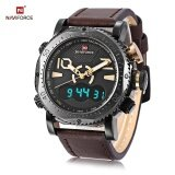 ซื้อ Naviforce Nf9094M Male Dual Movt Watch Alarm Chronograph Men Wristwatch Intl ใหม่