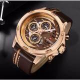 ราคา นาฬิกาข้อมือ Naviforceสายหนัง รุ่น Nf9110 Brg ของแท้ 100 กันน้ำ 30 เมตร รับประกัน 1 ปี สินค้าอยู่ในไทย ใหม่ ถูก