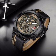 ขาย นาฬิกาข้อมือ Naviforceสายหนัง รุ่น Nf9110 Bybn ของแท้ 100 กันน้ำ 30 เมตร รับประกัน 1 ปี สินค้าอยู่ในไทย Naviforce ถูก