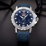 ขาย เก็บเงินปลายทาง นาฬิกาผู้ชาย Naviforceสายหนัง รุ่น Nf9122 Blue ของแท้กันน้ำ 30 เมตร รับประกัน 1 ปี ออนไลน์ กรุงเทพมหานคร