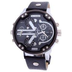 ขาย Neptune Cunnou นาฬิกาข้อมือ นาฬิกาแฟชั่น ผู้ชาย สายหนัง สีดำ Fashion Casual Luxury Synthetic Leather Analog Men Watch Black ถูก ใน กรุงเทพมหานคร