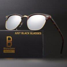 ส่วนลด Never Classic Clumb Bruno Dunn 3016 Glass Lense Sunglasses Women Men Sun Glasses Leopard Frame Silver Lense Intl Bruno Dunn ใน จีน