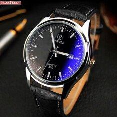 ขาย ซื้อ New 2017 Quartz Watch Men Watches Top Brand Luxury Famous Male Clock Wrist Watch Calendar Quartz Watch Relogio Masculino Intl ใน จีน