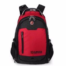 New Brand Swissgear Waterproof Nylon 17 Inches Laptop Swiss Men Backpack Computer Notebook Bag 17 Inch Laptop Bag Intl Intl ถูก