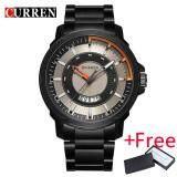 ราคา New Curren Watch นาฬิกาข้อมือ Es Men Top Brand Fashion Watch นาฬิกาข้อมือ Quartz Business Watch นาฬิกาข้อมือ Male Army Sports Analog Casual Date ราคาถูกที่สุด