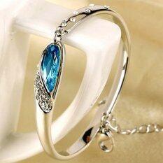 ซื้อ New Design Romantic Jewelry Women Crystal Bracelet Intl ออนไลน์
