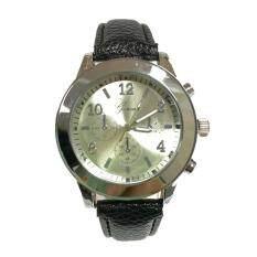 ขาย New Geneva Watch นาฬิกาข้อมือแฟชั่นผู้หญิง สายหนังหลากสี หน้าปัดเงิน รุ่น Wm0096 99 Geneva ออนไลน์